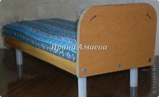 Всем привет! Вот такая самодельная мебель у кукол моих дочек))). фото 3