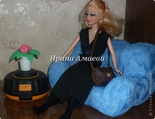 Всем привет! Вот такая самодельная мебель у кукол моих дочек))). фото 12