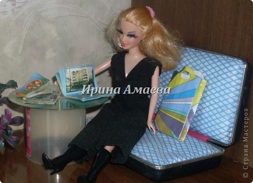 Всем привет! Вот такая самодельная мебель у кукол моих дочек))). фото 11
