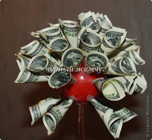 Своими руками дерево из денег