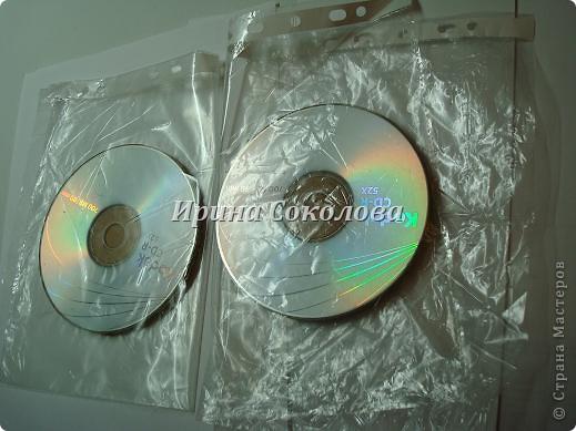 Подставки под чашки из CD- дисков фото 5