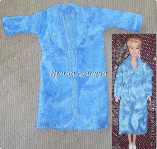 Мастер-класс Вырезание Шитьё Одежда для кукол выкройка Бумага Кружево Нитки Пуговицы Ткань фото 5