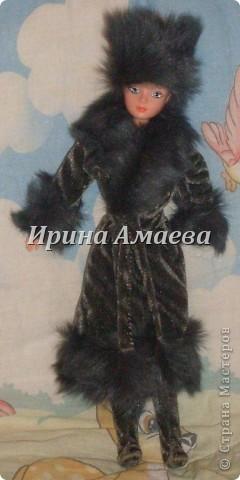 Мастер-класс Вырезание Шитьё Одежда для кукол выкройка Бумага Кружево Нитки Пуговицы Ткань фото 11