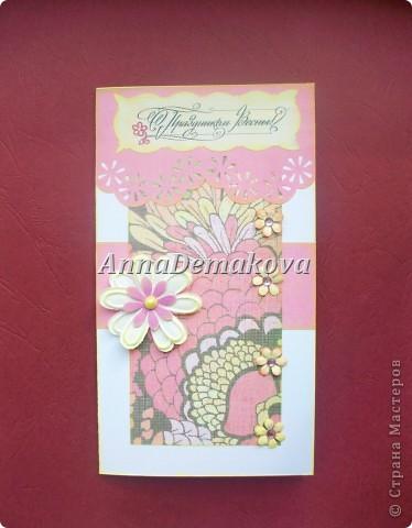 Девочки, я опять со своими открытками.  Представляю вам   новые открыточки к самому весеннему празднику - 8-е марта. Надеюсь, они вам понравятся. фото 8