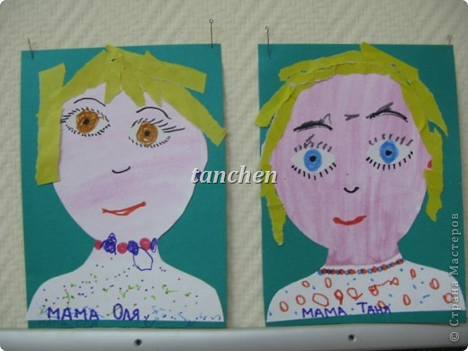 рисунки детей 4 лет: