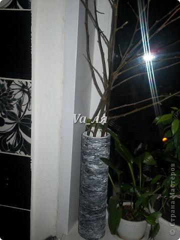Ваза - декор джутовая верёвка фото 3