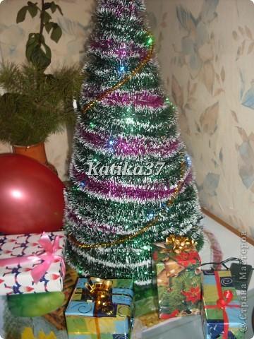 Домашняя новогодняя елка фото 1