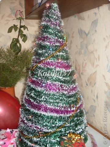 Домашняя новогодняя елка фото 2