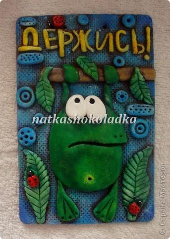 Положительная лягушка. Идея из сайта Цветная рыба. фото 1
