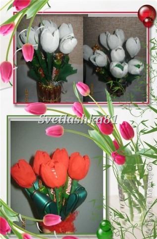 Благодаря мастерицам сайта, родились вот такие подарки к 8 марта фото 4