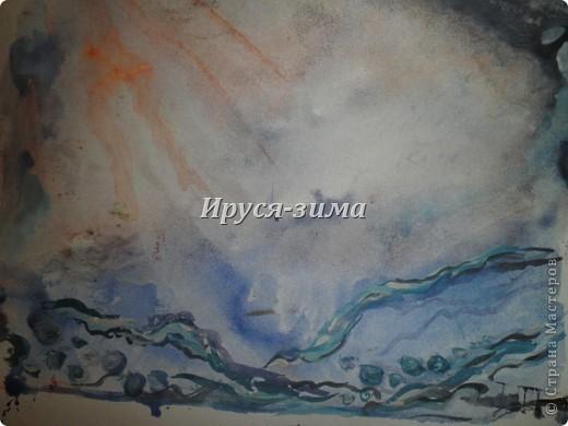 Абстракция море