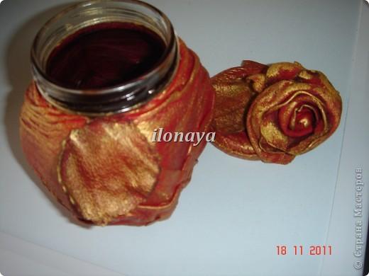 Напольная ваза,обтянута кожей фото 5