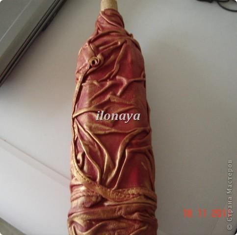 Напольная ваза,обтянута кожей фото 7