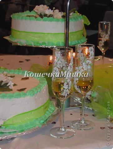 Первые бокалы на свадьбу фото 1
