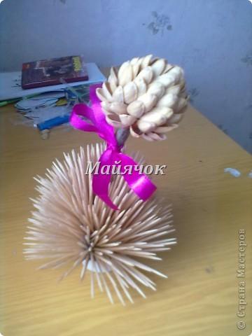 Мой подарочек,сделанный к 8 марта. Горшок придумала сама,а крона сделана по МК Татьяны Просняковой www.stranamasterov.ru/techno/pistachio_tree