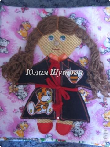 Эту игрушку шила на заказ для маленькой девочки.Так выглядит сумка снаружи.Далее расскажу и покажу,что внутри. фото 6