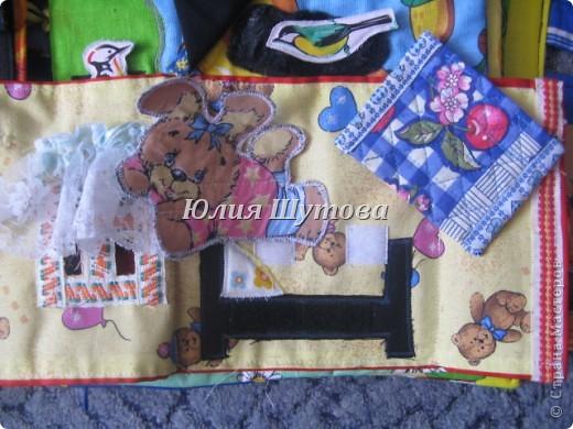 Эту игрушку шила на заказ для маленькой девочки.Так выглядит сумка снаружи.Далее расскажу и покажу,что внутри. фото 12