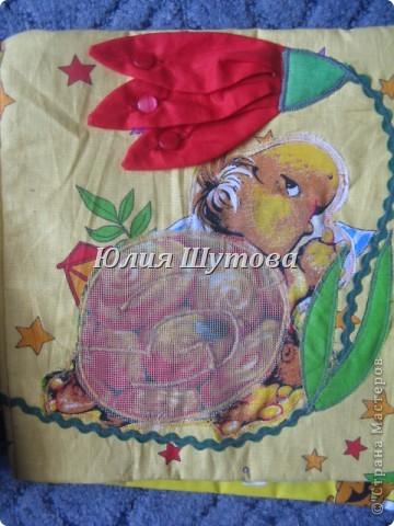 Эту игрушку шила на заказ для маленькой девочки.Так выглядит сумка снаружи.Далее расскажу и покажу,что внутри. фото 14