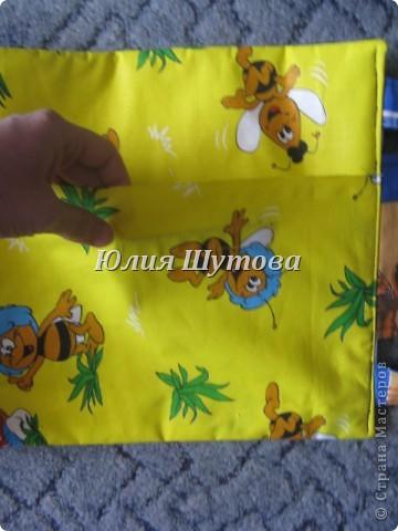 Эту игрушку шила на заказ для маленькой девочки.Так выглядит сумка снаружи.Далее расскажу и покажу,что внутри. фото 19