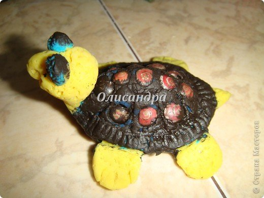 Я коллекционирую черепашек и пытаюсь делать их своими руками из различных материалов...  фото 10