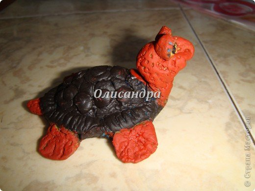 Я коллекционирую черепашек и пытаюсь делать их своими руками из различных материалов...  фото 11