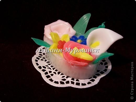 Букетик цветов (собрала остаточки по одному цветочку и вот - букетик) фото 1