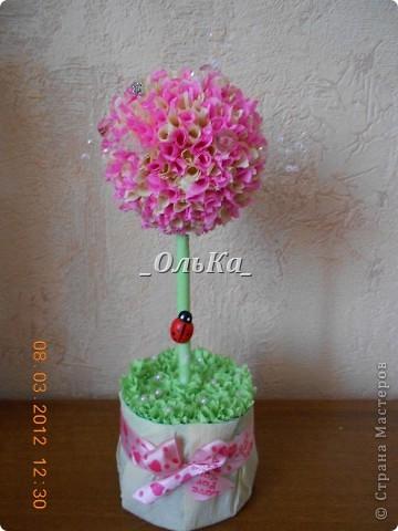 Вот такие деревья у меня получились подружкам к 8 марта)))  фото 7
