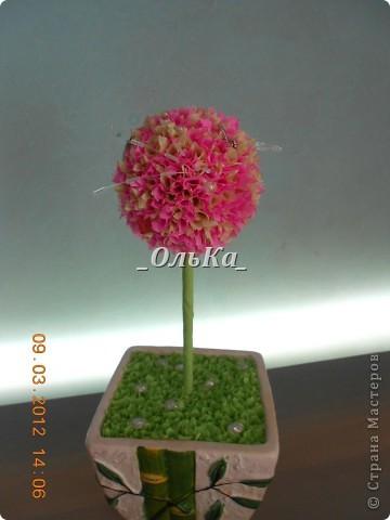 Вот такие деревья у меня получились подружкам к 8 марта)))  фото 2