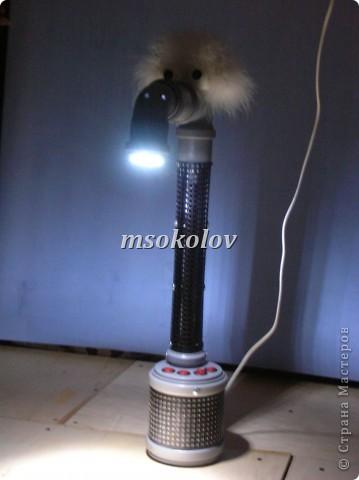 лампа из простых элементов. фото 17