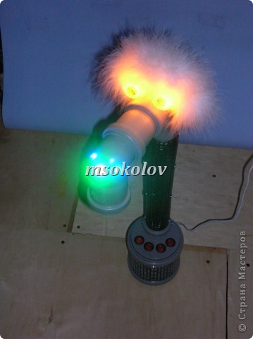 лампа из простых элементов. фото 22