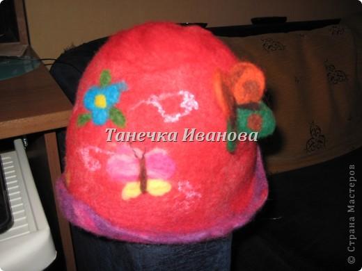 моя первая банная шапочка фото 1