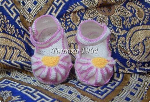 Туфельки для малышки фото 1