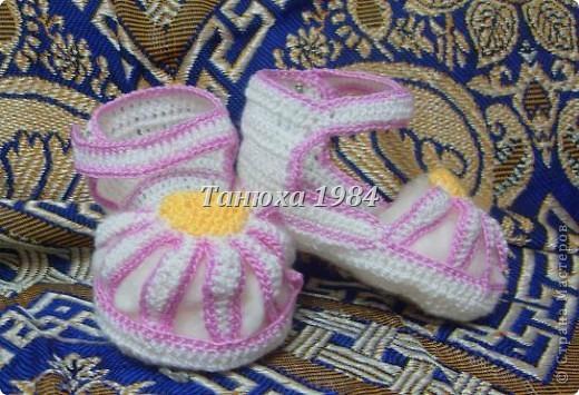 Туфельки для малышки фото 2