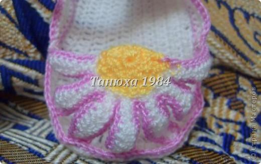 Туфельки для малышки фото 3