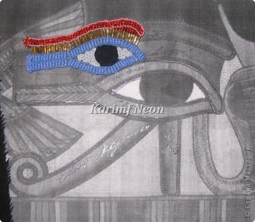 Очень люблю культуру древнего Египта. Вот и решил посутажить немного. Благо техника позволяет делать любые ИЗГИБЫ. фото 6