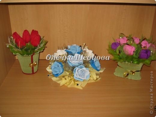 Тюльпанчики, розы, крокусы: фото 1