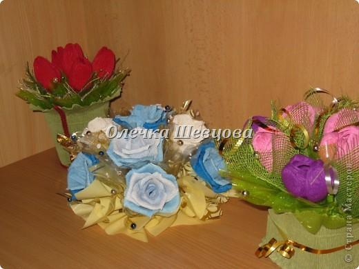 Тюльпанчики, розы, крокусы: фото 2