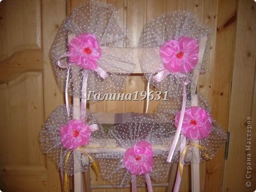 Цветы для украшения свадебных машин фото 1
