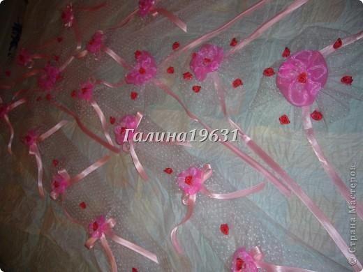 Цветы для украшения свадебных машин фото 6