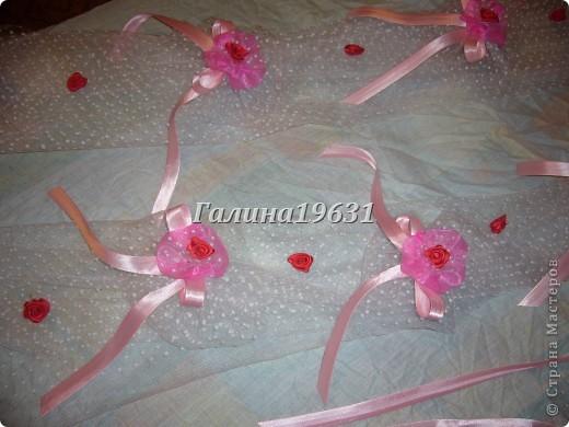 Цветы для украшения свадебных машин фото 7