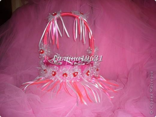 Свадебная корзночка для лепестков роз фото 1