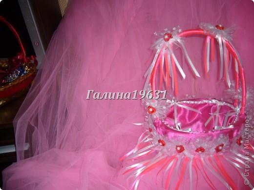 Свадебная корзночка для лепестков роз фото 2