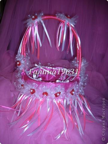 Свадебная корзночка для лепестков роз фото 3