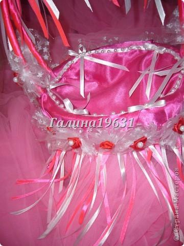 Свадебная корзночка для лепестков роз фото 5