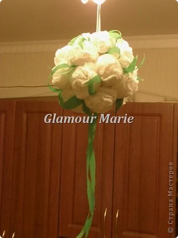 Шар с цветов фото 2