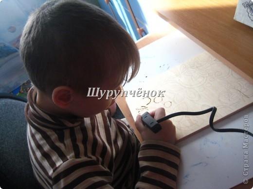 Коля (7 лет) за работой. фото 1