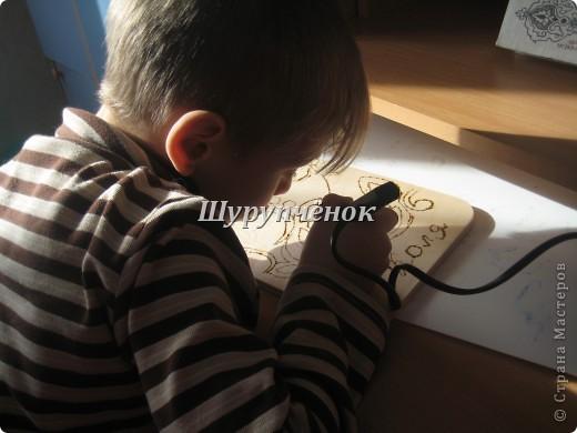 Коля (7 лет) за работой. фото 2