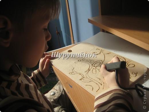 Коля (7 лет) за работой. фото 3