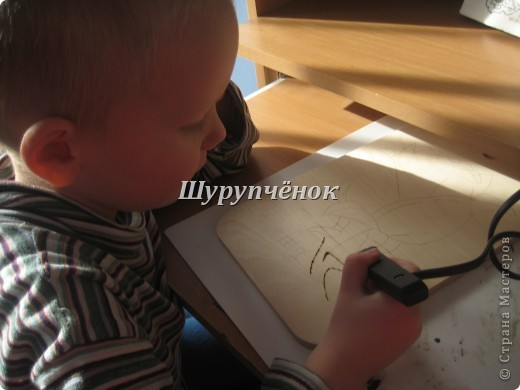 Коля (7 лет) за работой. фото 4