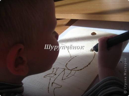 Коля (7 лет) за работой. фото 5
